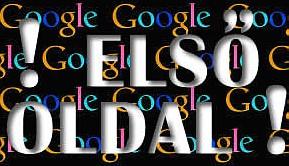 google-helyezes-elso-oldal