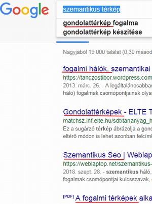 google optimalizálás