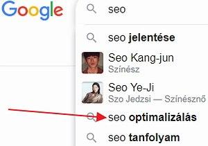 google seo optimalizálás